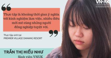 Kỳ thực tập hè của sinh viên VNUK