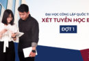 Hướng dẫn đăng ký xét tuyển học bạ vào Viện Nghiên cứu & Đào tạo Việt – Anh (VNUK), Đại học Đà Nẵng